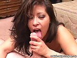 Sexy Mature Munching On Cock