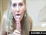 Mom eats cock with lust