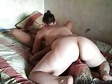 Russian Mature Couple At Home