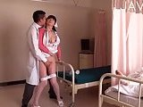 Doctor drilling horny nurse