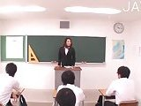 Sex with teacher in classroom!