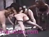 Slutty Lesbians In A Dungeon Get Wild Together