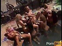 Lesbians At Birthday Party!