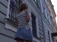 Teen hooker gets cumshot on her knockers