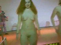 Strip party with nude sluts