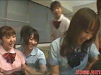 Japanese teen licked & fucked