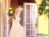 Bianca Dagger & Sandra Iron are hot brides