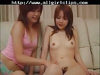 Japanese Lesbians Dirty Game