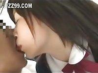 Japanese schoolgirl fucked on bus