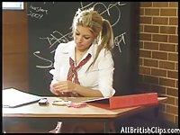 Schoolgirl Smoking Fetish Hottie