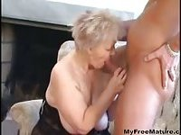 Sexy Mom N88 Blonde Bbw Granny With A Man