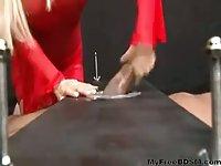 Slave Jerked & Fucked bdsm bondage slave
