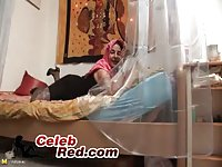 Arab Granny Fucking Her Self With Huge Dildos arab