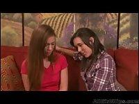 Sinn Sage And Maddy O'reilly Strapon lesbian fun