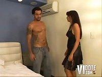 Valeria Azevedo cummed
