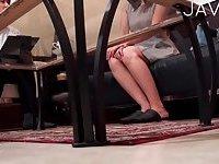 Hot pretty girl likes oiled massage