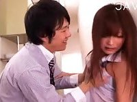 Hot babe punished in the office