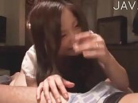 Asian hard drilling with deep throat blowjob 03