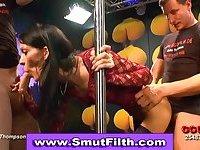Cock sucking bukkake facials slut scene 3