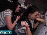 Cfnm orgy teens bukkaked