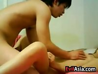 Asian Students Drilling