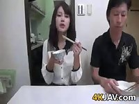 Japanese Girl Drilled By Father In Law