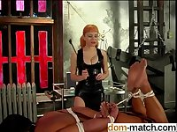 Big tits mistress Lolita playing