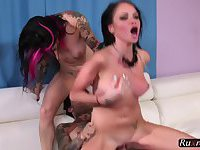 Raven Bay And Joanna Angel Cum On Our Tattoos