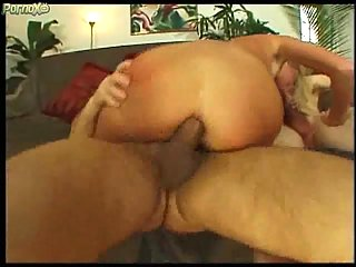 Sex hungry slut eats dudes cum