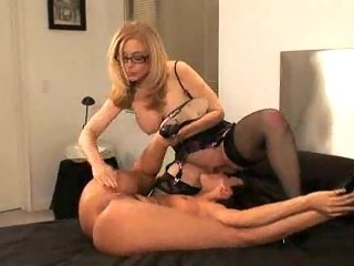 Naughty Lesbian Sluts Strapon Play at besttubeclips.com