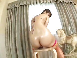Japanese Girl Loving Her Dildo