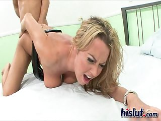 Alexis was naughty   Big Boobs Update