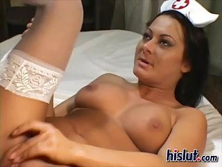 Sandra is a horny nurse | Big Boobs Update
