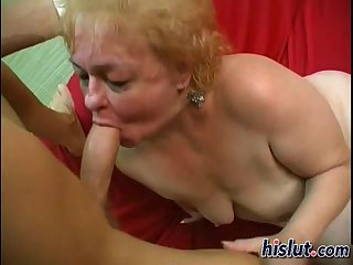 This granny want a cock