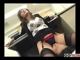 Sexy Asian Gets Fucked Hard In The Office