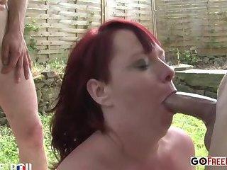 She was fucked hard