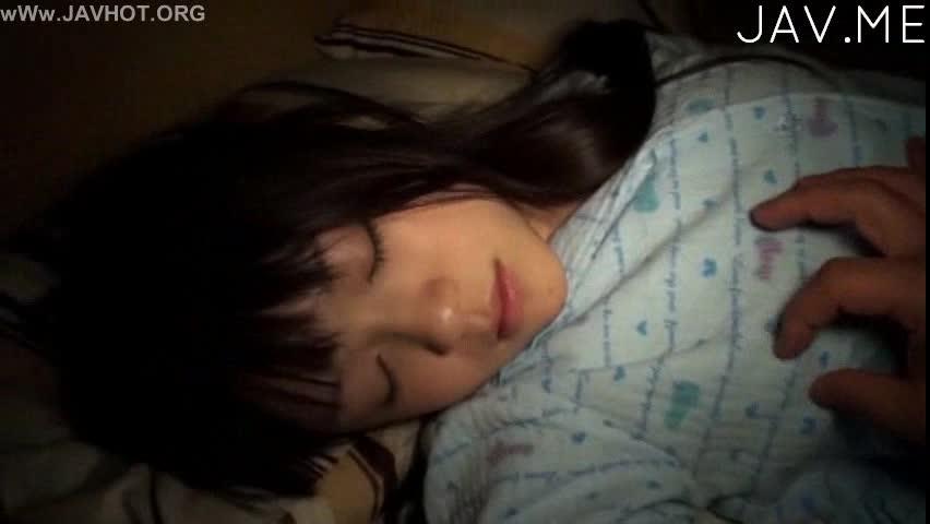 Sleeping Teen Facial Cumshot Brunette 20